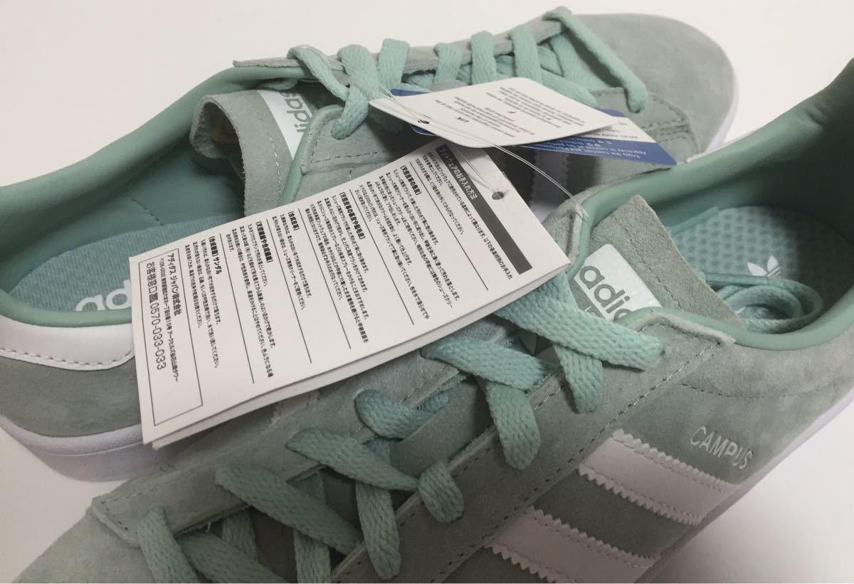 新品 adidas originals アディダス オリジナルス CAMPUS キャンパス スエード us10.5 JP 28.5cm_画像4