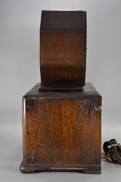 希少 初期型 大型 真空管ラジオ 54.5cm アンティーク 大正 昭和 レトロ OCT-16 Y425_画像4