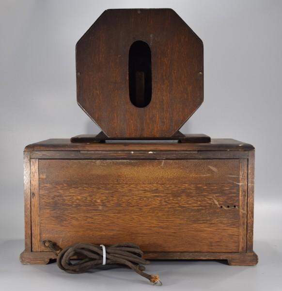 希少 初期型 大型 真空管ラジオ 54.5cm アンティーク 大正 昭和 レトロ OCT-16 Y425_画像2