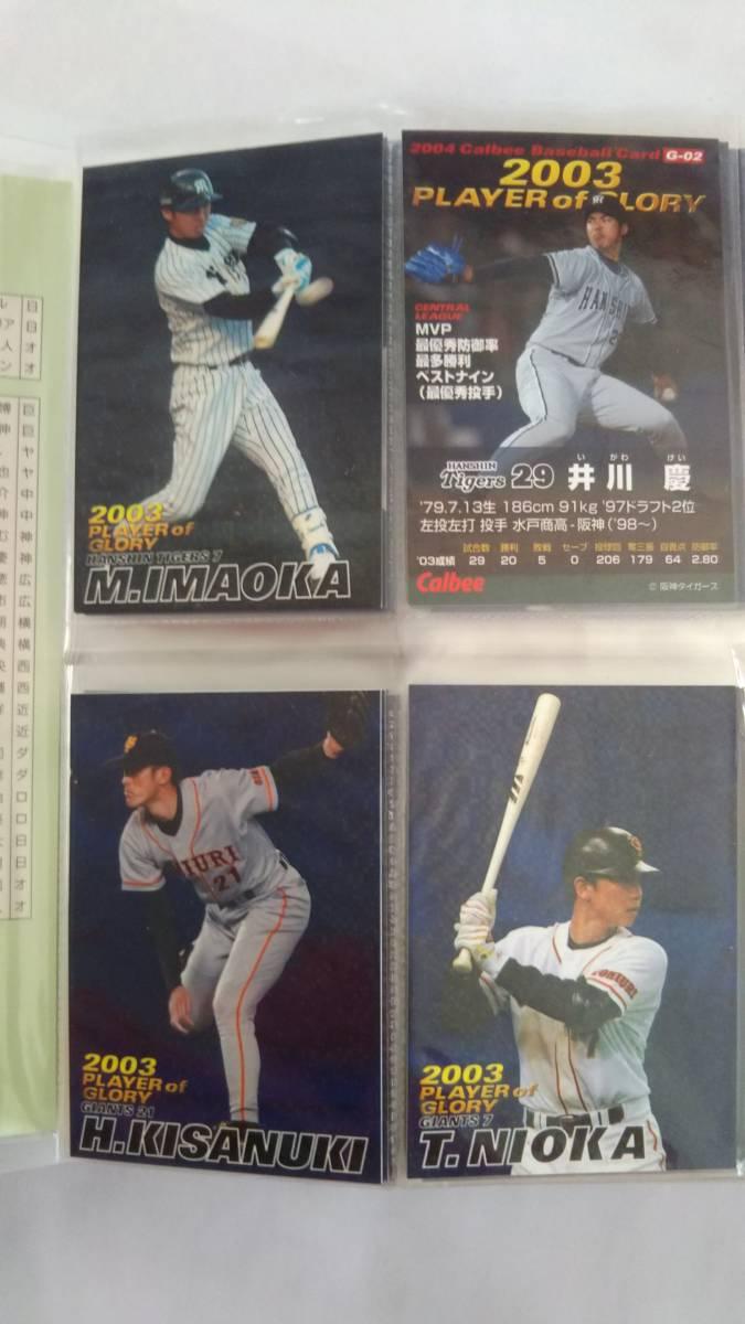 カルビー Calbee  2003プロ野球 カード第2弾 132枚_画像4