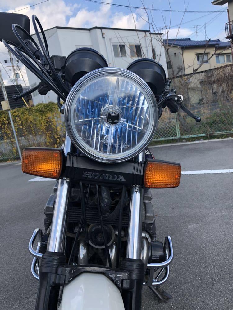 京都発 CBX400F 車検付 CBX550Fの400登録 _画像6