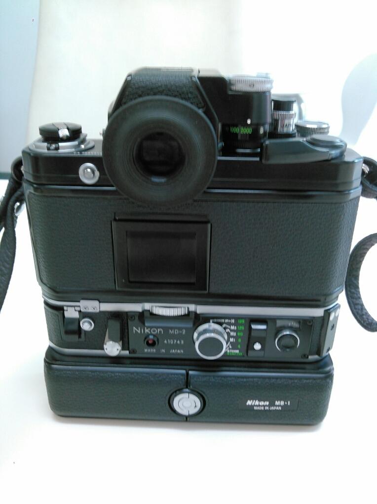 1円売切り/動作未確認/ニコン/F2/レンズ f=35mm 1:2.8/ モータードライブ MD-2 MB-1_画像3