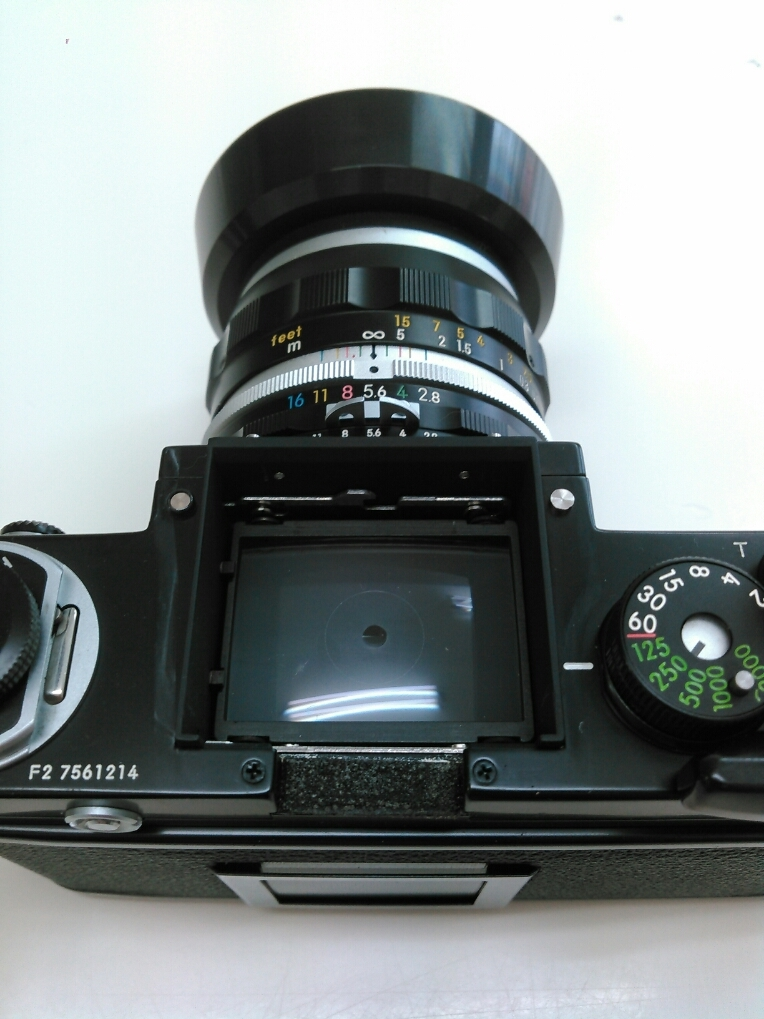 1円売切り/動作未確認/ニコン/F2/レンズ f=35mm 1:2.8/ モータードライブ MD-2 MB-1_画像5