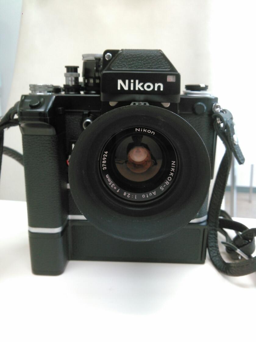 1円売切り/動作未確認/ニコン/F2/レンズ f=35mm 1:2.8/ モータードライブ MD-2 MB-1