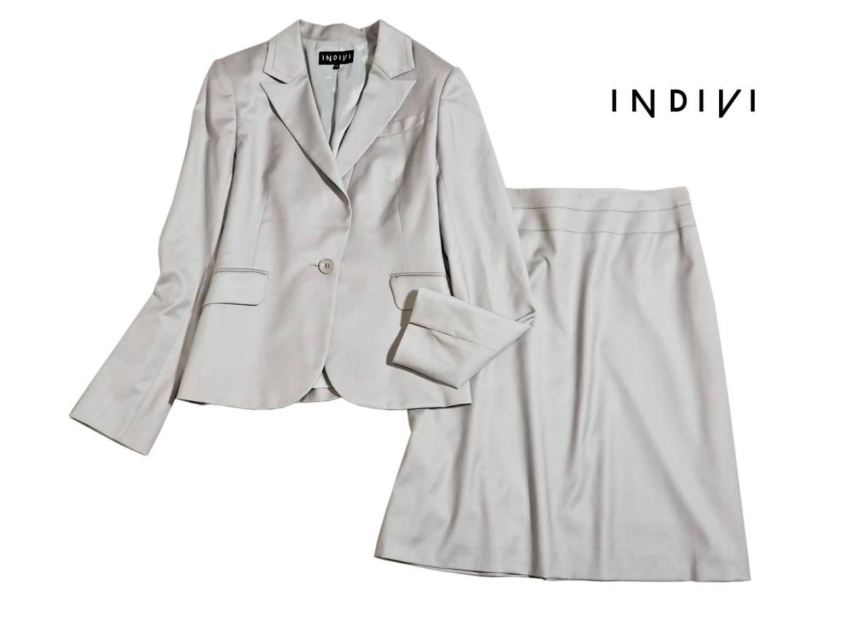 0f12e109563b84 代購代標第一品牌- 樂淘letao - 美品INDIVI インディヴィ素敵スカート ...