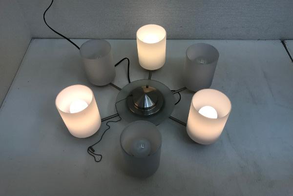 KOIZUMI コイズミ 電球形蛍光灯シャンデリアライト【BAN3501】8~10畳 ホワイト 6灯 照明_画像5