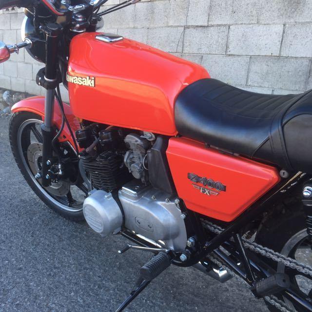 Z400FX 書付き 実動車  初度登録54年11月_画像8