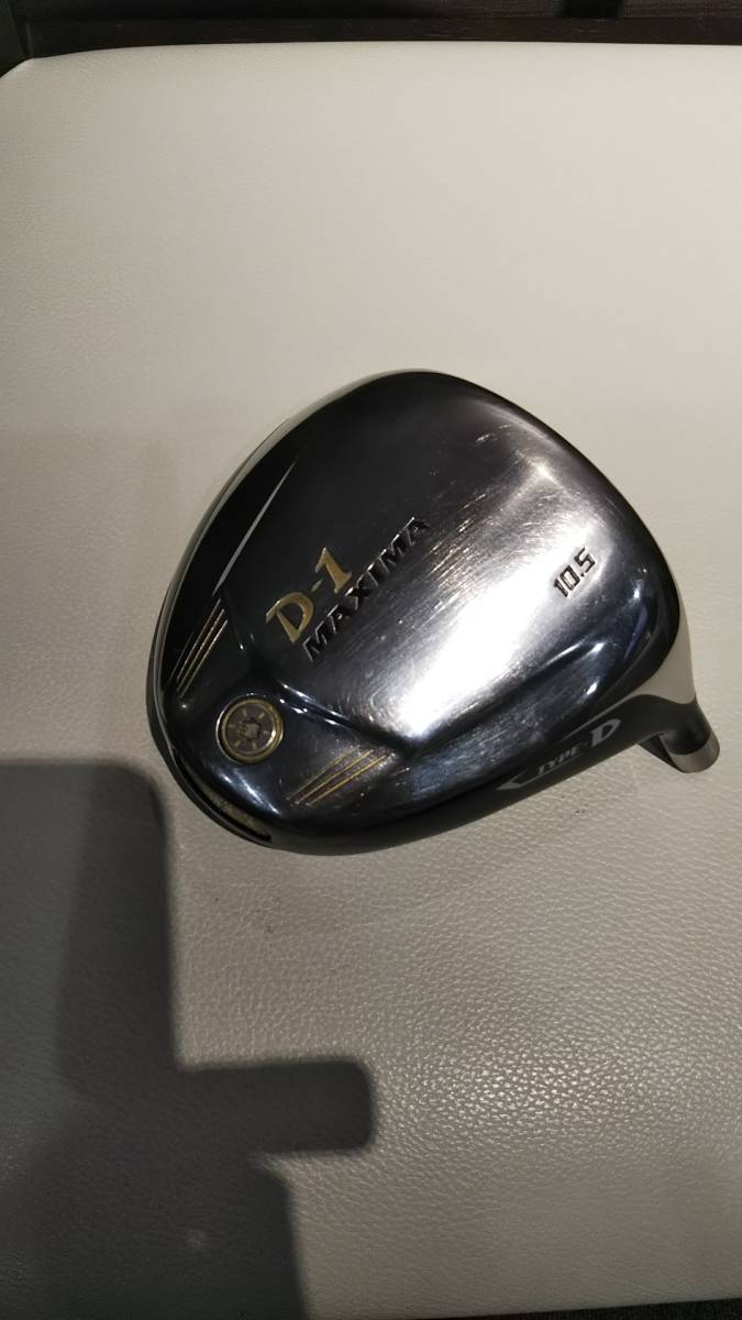 【中古】リョーマゴルフ 2013 D‐1 マキシマ TYPE D ドライバー 10.5° ヘッド単体_画像3