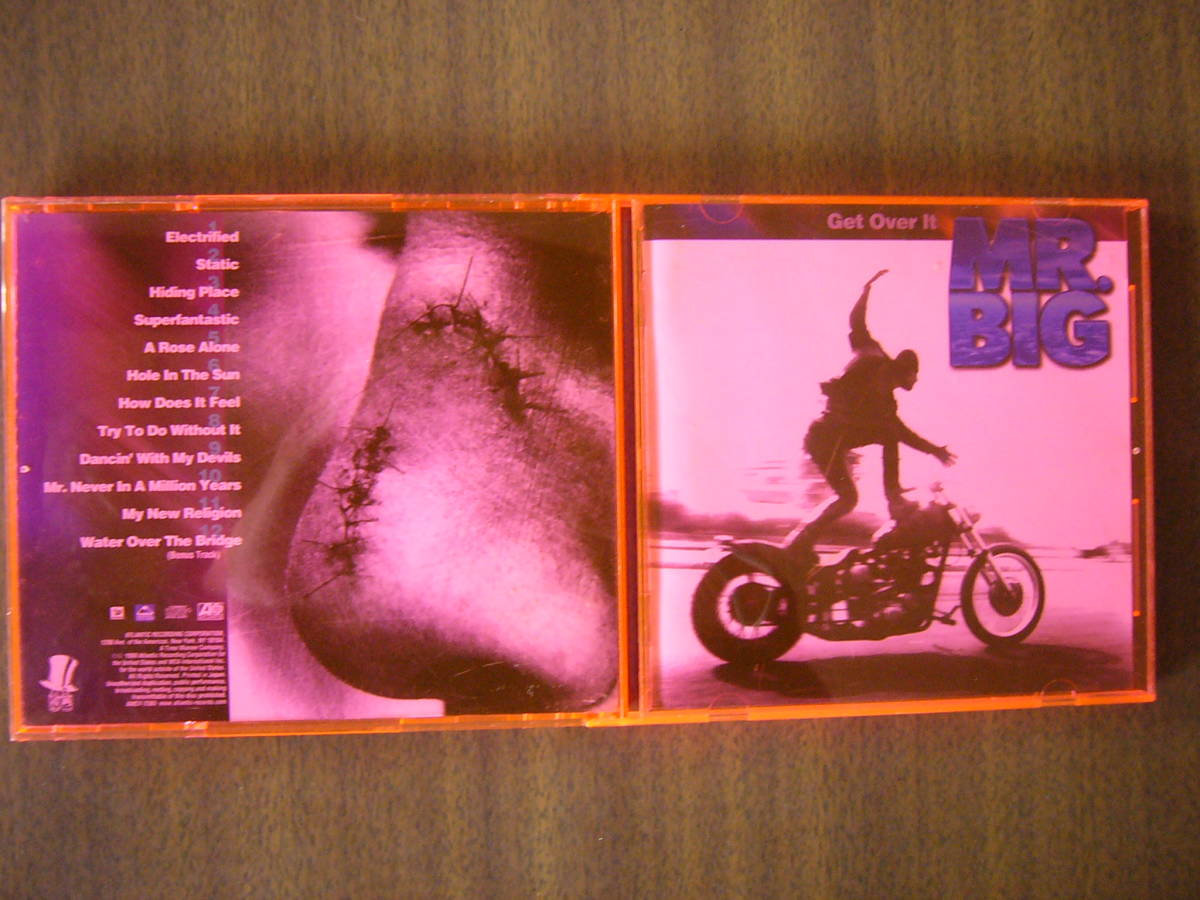 MR.BIG/5thアルバム『ゲット・オーヴァー・イット』(Get Over It)/日本盤Bonus_画像1