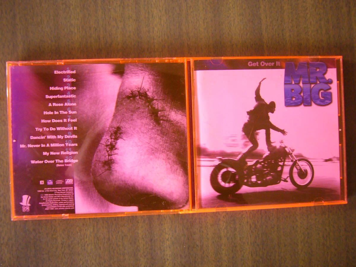 MR.BIG/5thアルバム『ゲット・オーヴァー・イット』(Get Over It)/日本盤Bonus_画像5