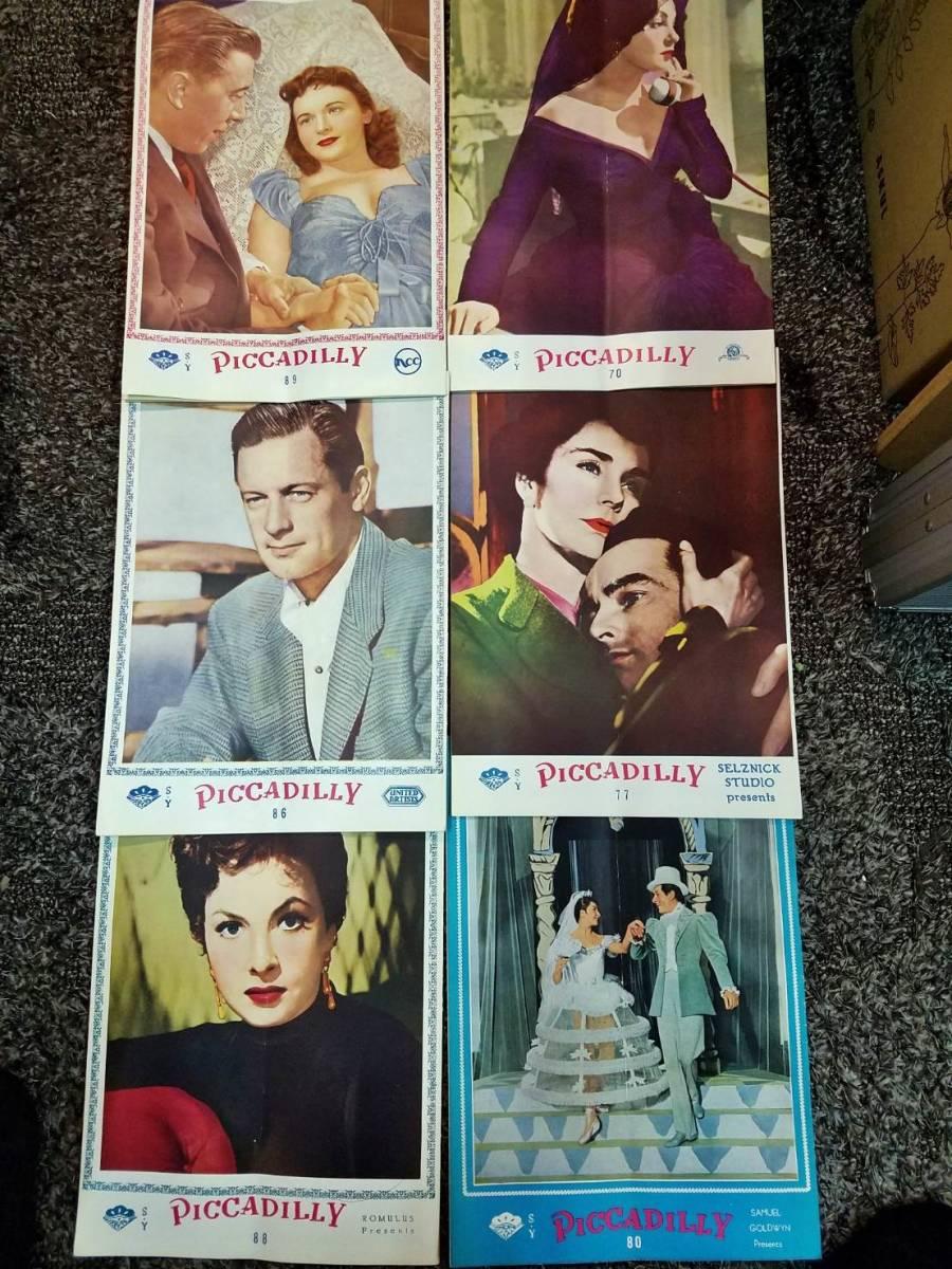 映画 パンフ まとめて PICCADILLY 1952年~1955年公開作品_画像4