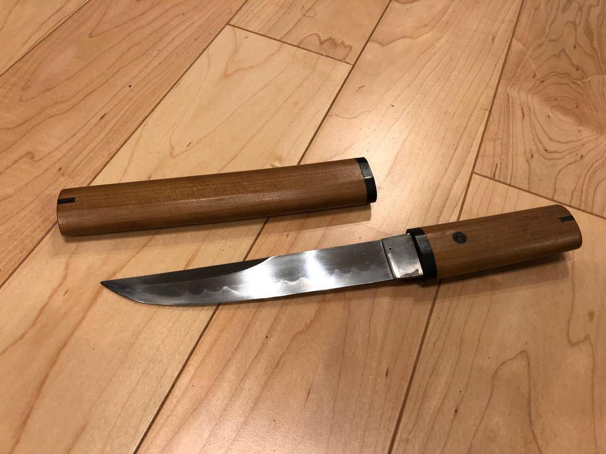 合法 短刀 日本刀 白鞘 武具 刃渡り14.9cm 軍刀 脇差 匕首 ナイフ