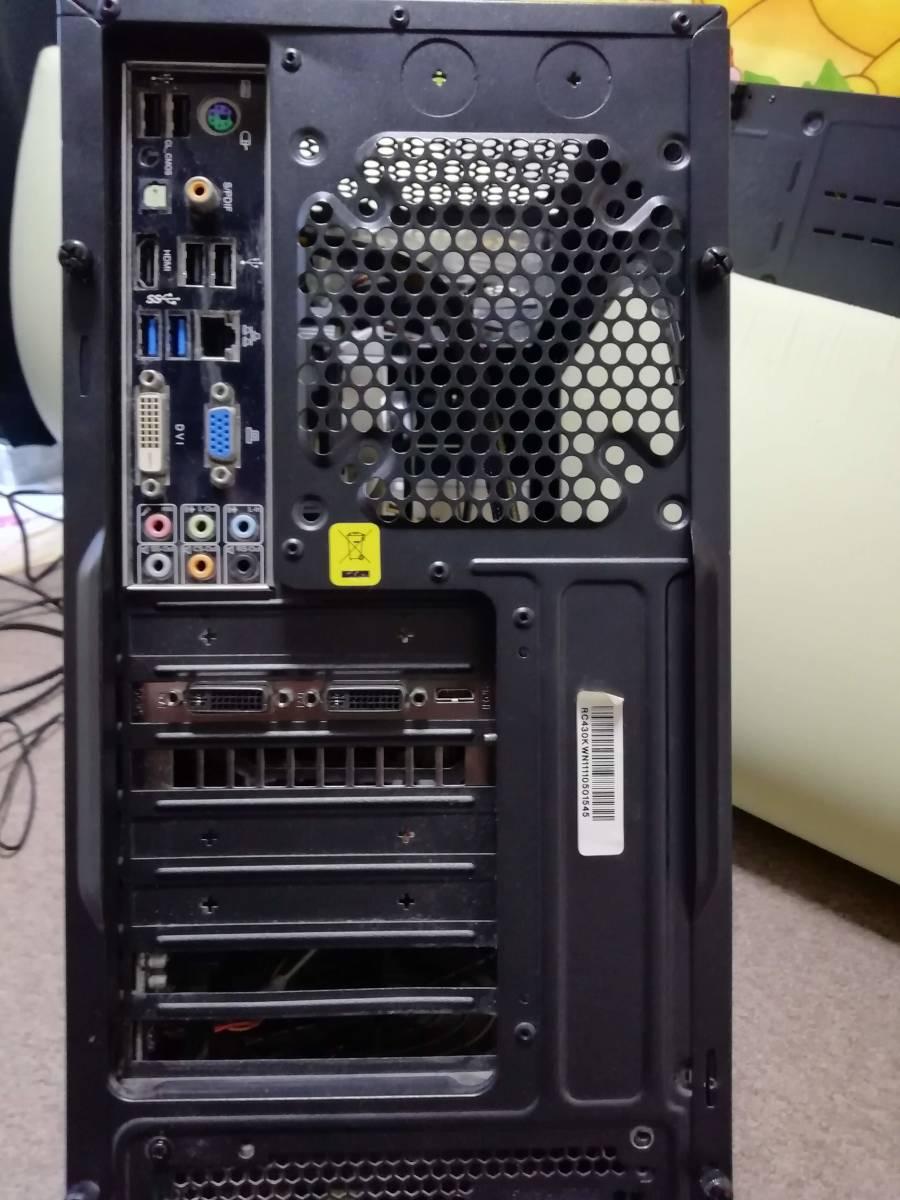 おまけモニター付き 自作 Core i7-2600 3.4GHz/16GB/MSI/Z68A-GD55/GTX560TI/2THDD_画像6