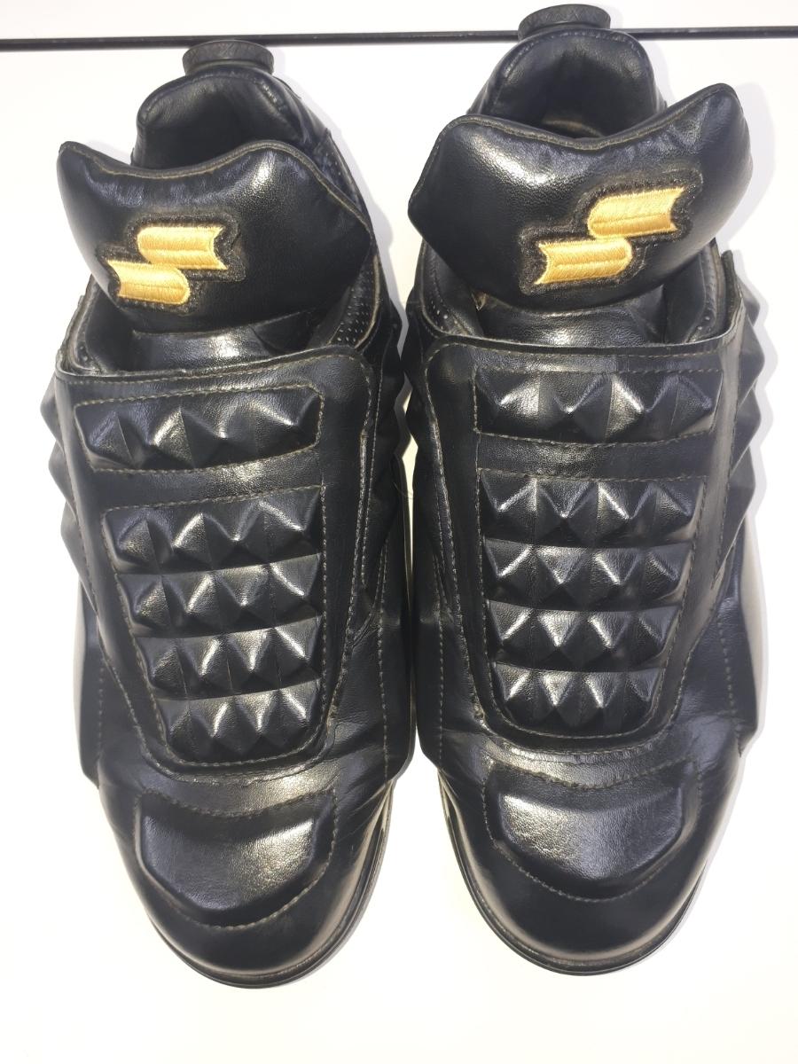 美品 中古 USED SSK BOAシステム 球審シューズ 29.0 黒 ソフトボール可能 硬式 軟式 靴 TRL5150