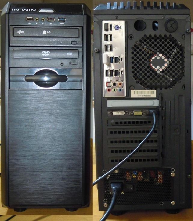 自作 i7 3930K 3.2GHz 6コア12スレッド /mem8GB /HDD250+1000GB /GT740_画像5