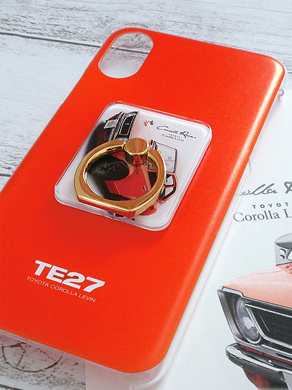 ☆送料無料【アルファロメオ Tipo 33】スマホケース(スマホリング付)旧車 T33 ストラダーレ iPhone等_画像5