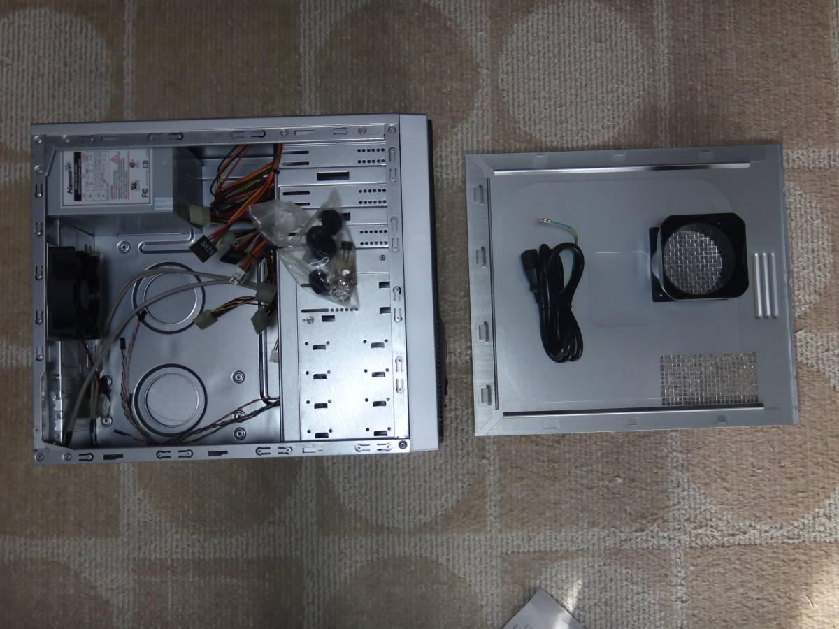 MicroATXケース・400W電源付き(新品・未使用品)_画像3