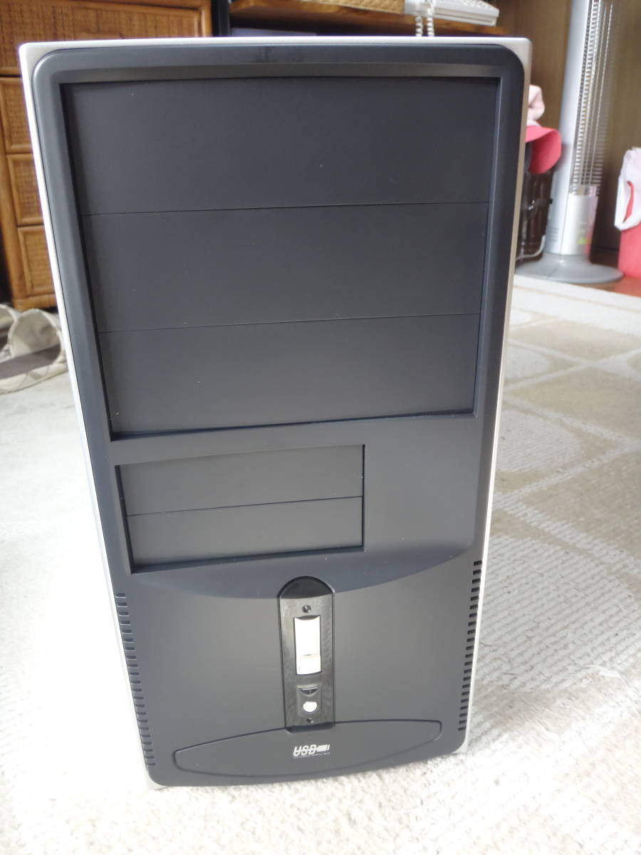 MicroATXケース・400W電源付き(新品・未使用品)