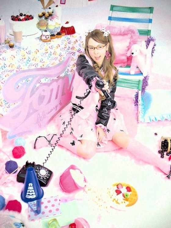 MILK ミルク LADY POODLE レディプードルスタジャン ピンク ブラック 黒 Tommy february6 川瀬智子_画像1