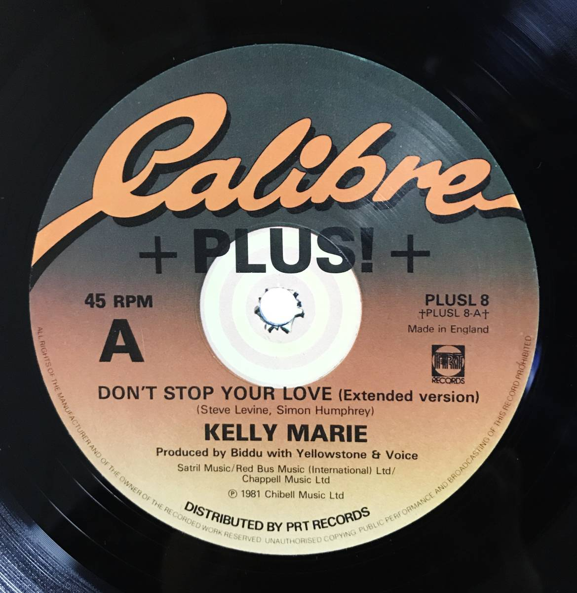 "#27■12""/DISCO/DANCE CLASSICS■ KELLY MARIE - DON'T STOP YOUR LOVE_画像1"