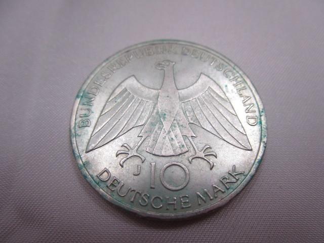☆ドイツ 1972年 ミュンヘン オリンピック 記念 2次 10マルク 銀貨 2枚セット 保管品 外国 コイン☆_画像4