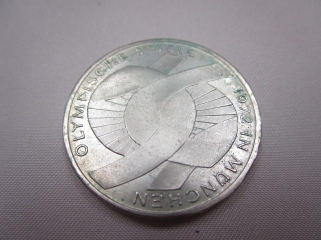 ☆ドイツ 1972年 ミュンヘン オリンピック 記念 2次 10マルク 銀貨 2枚セット 保管品 外国 コイン☆_画像7