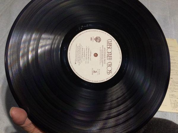 名盤レコード Another Page クリストファークロス Christopher Cross/AOR