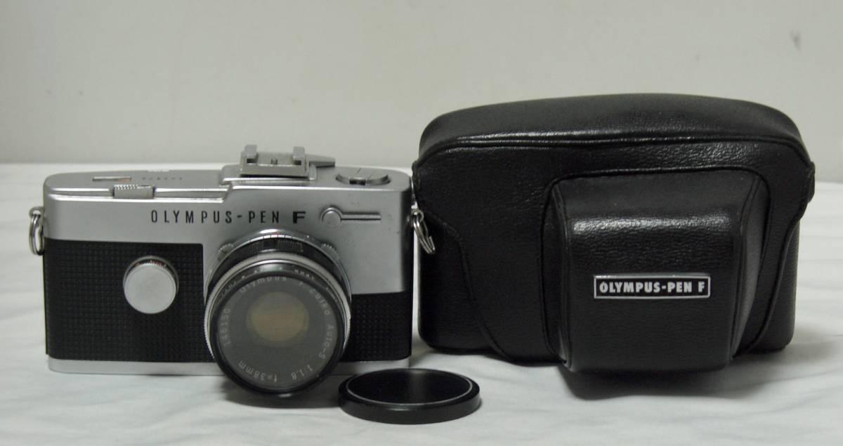 OLYMPUS PEN-FTカメラ