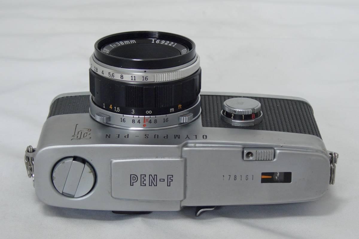 OLYMPUS PEN-Fカメラ_画像2