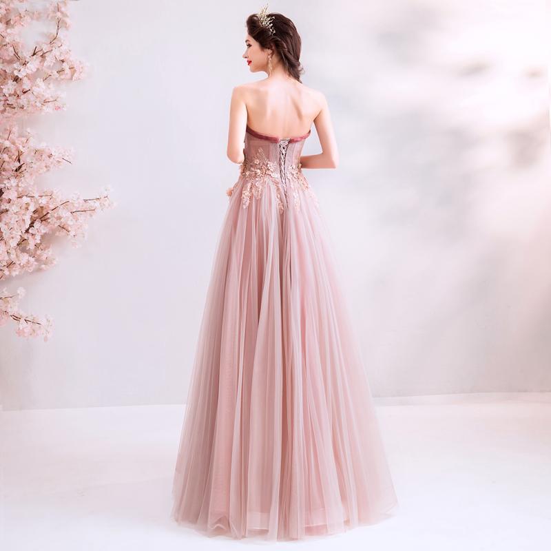 素敵なカラードレス 結婚式 披露宴 お色直し 二次会 パーティー 演奏会 発表会 ステージ衣装 TS715_画像4