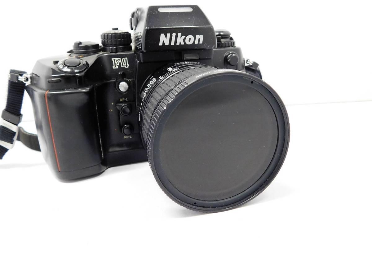 Nikon ニコン/ F4 2504558 ボディー 望遠レンズ セット 動作確認未_画像2