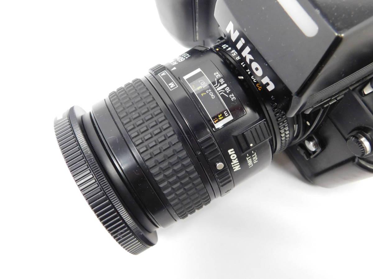 Nikon ニコン/ F4 2504558 ボディー 望遠レンズ セット 動作確認未_画像3