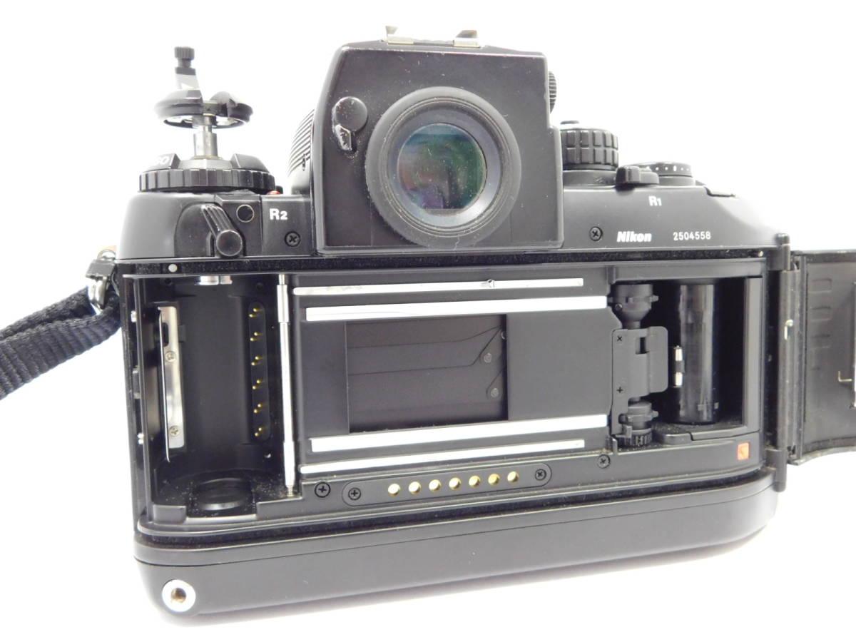Nikon ニコン/ F4 2504558 ボディー 望遠レンズ セット 動作確認未_画像6
