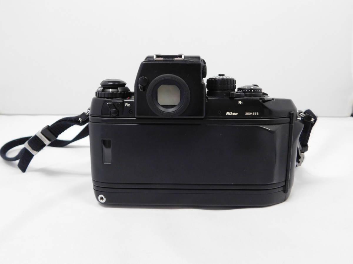 Nikon ニコン/ F4 2504558 ボディー 望遠レンズ セット 動作確認未_画像4