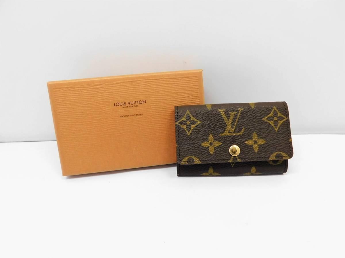 591a3d8f9ea0 代購代標第一品牌- 樂淘letao - Louis Vuitton ルイヴィトン/ モノグラムキーケース6連ミュルティクレ美品