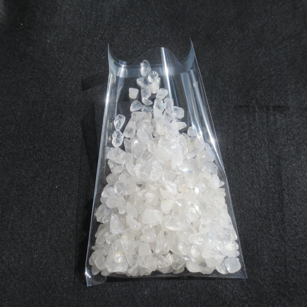 【本物】水晶粒 900g 大粒 さざれ石 チップ 砂利【送料無料】天然/本物/玉/原石_画像3