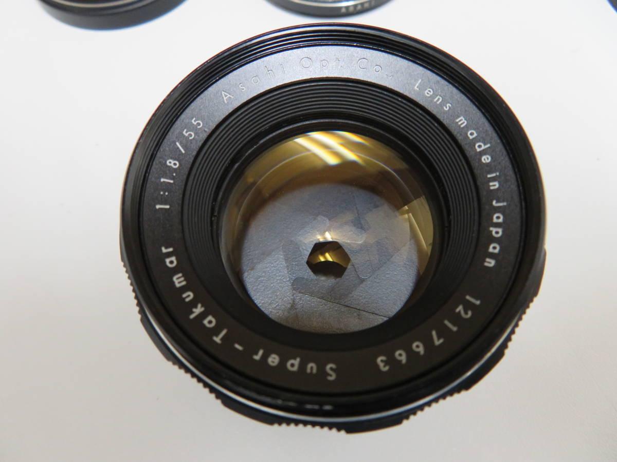 Pentax ペンタックス Spotmatic SP Super-Takumar 55mm F1.8 AMC Takumar 35mm F3.5 他      06_画像2