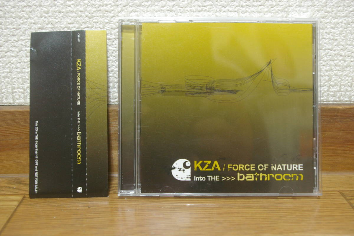 KZA / FORCE OF NATURE Into The bathroom 中古mixCD 2005 carhartt base libyus music loop hidden champion forever young カーハート _画像1
