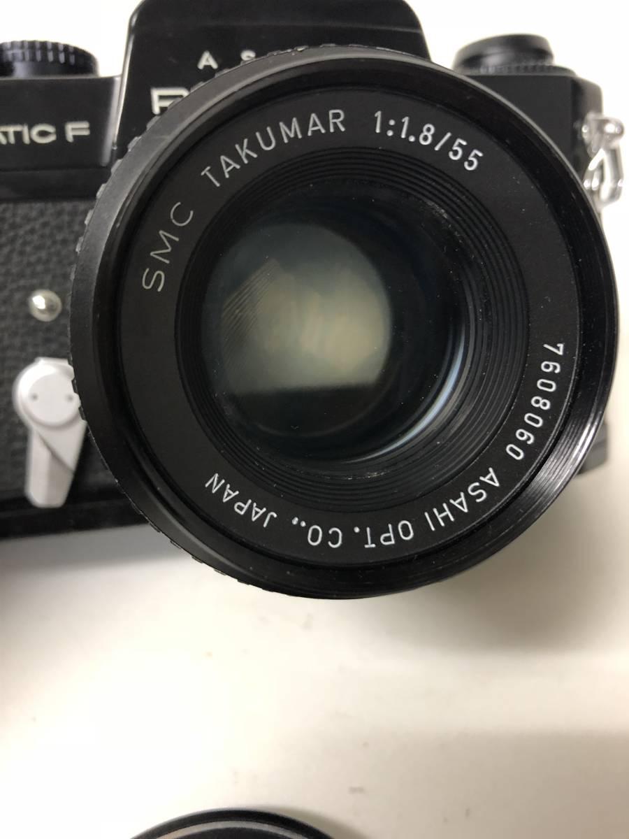カメラ PENTAX SPOTMATIC F SPF+55mm F1.8 ブラックボディ k91227_画像2