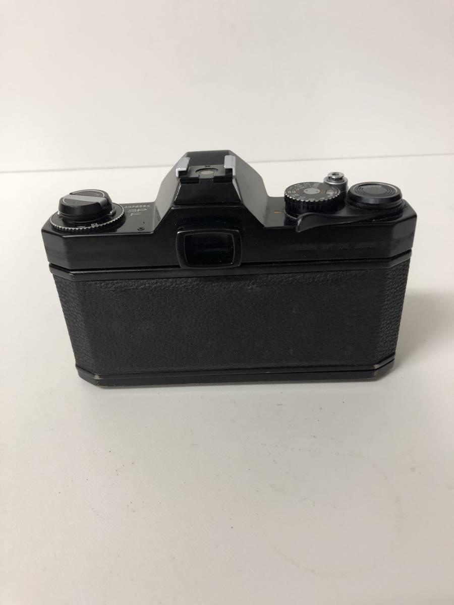 カメラ PENTAX SPOTMATIC F SPF+55mm F1.8 ブラックボディ k91227_画像4