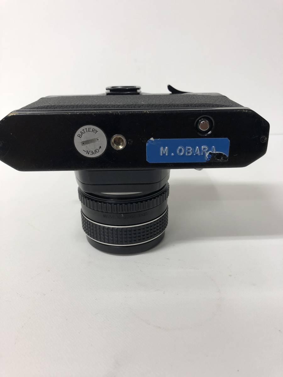 カメラ PENTAX SPOTMATIC F SPF+55mm F1.8 ブラックボディ k91227_画像6