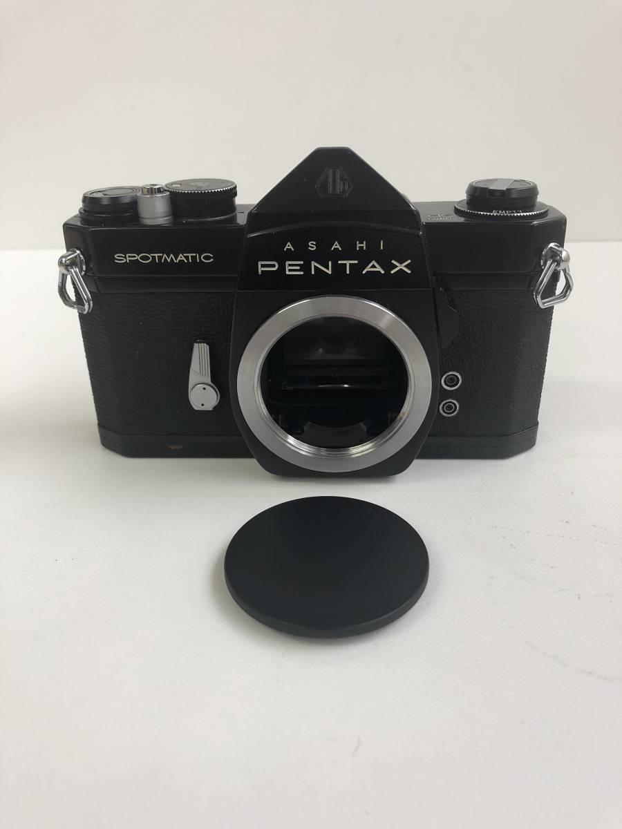 カメラ ASAHI PENTAX SPOTMATIC SP ペンタックス ブラックボディ kp127