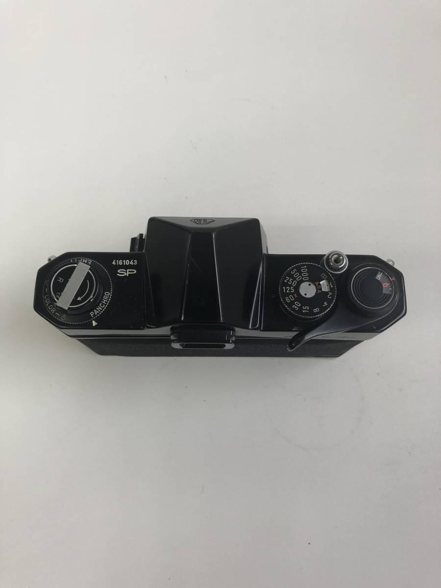 カメラ ASAHI PENTAX SPOTMATIC SP ペンタックス ブラックボディ kp127_画像3