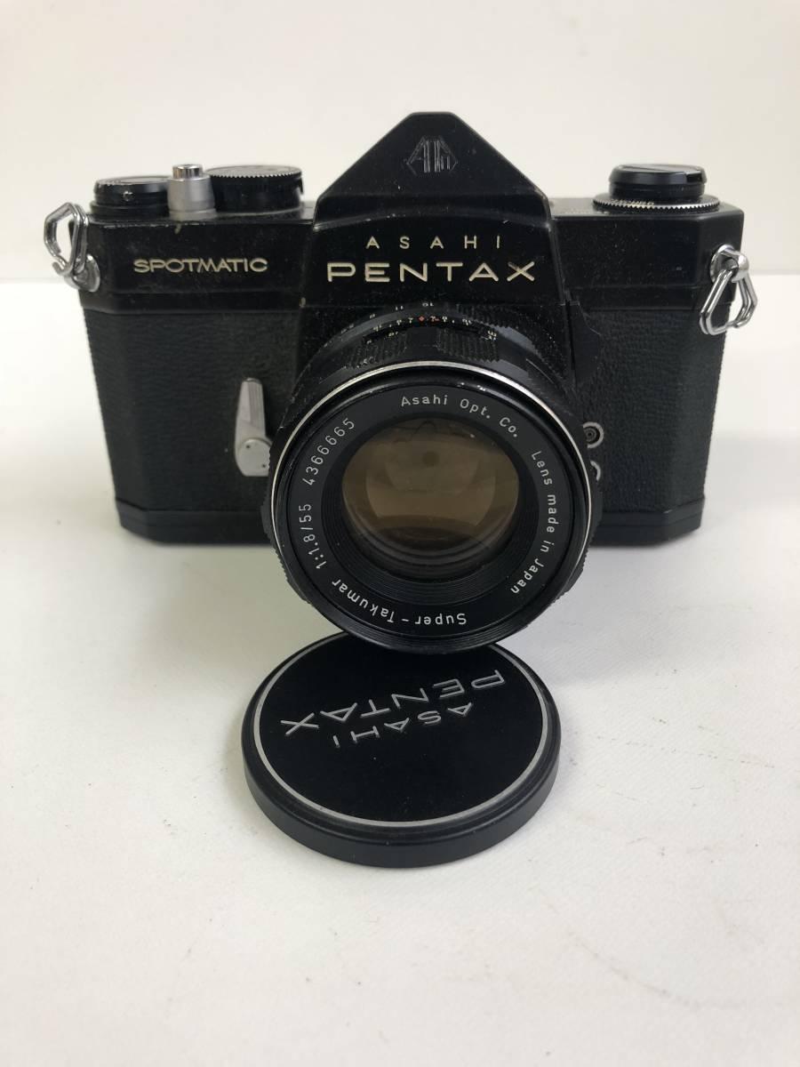 カメラ ASAHI PENTAX SPOTMATIC SP+1:1.8/55 ma1217
