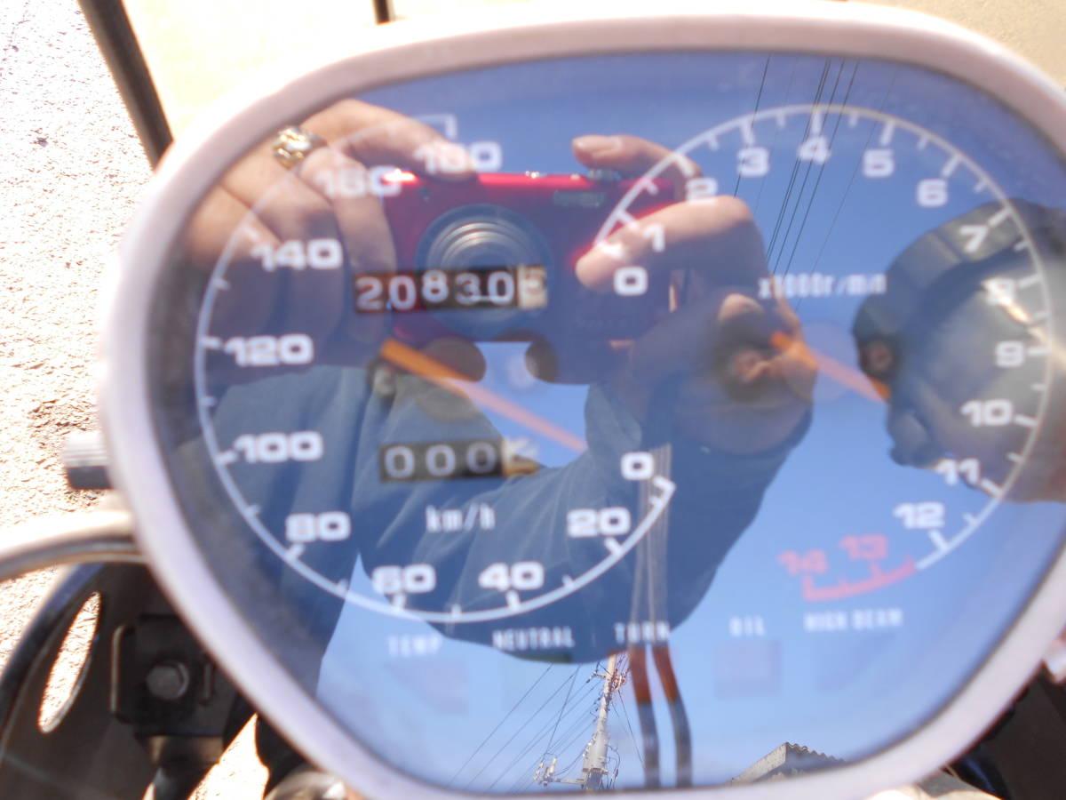 埼玉県発 GSX250S刀 実動車 書類付き 20830km カタナ_画像10