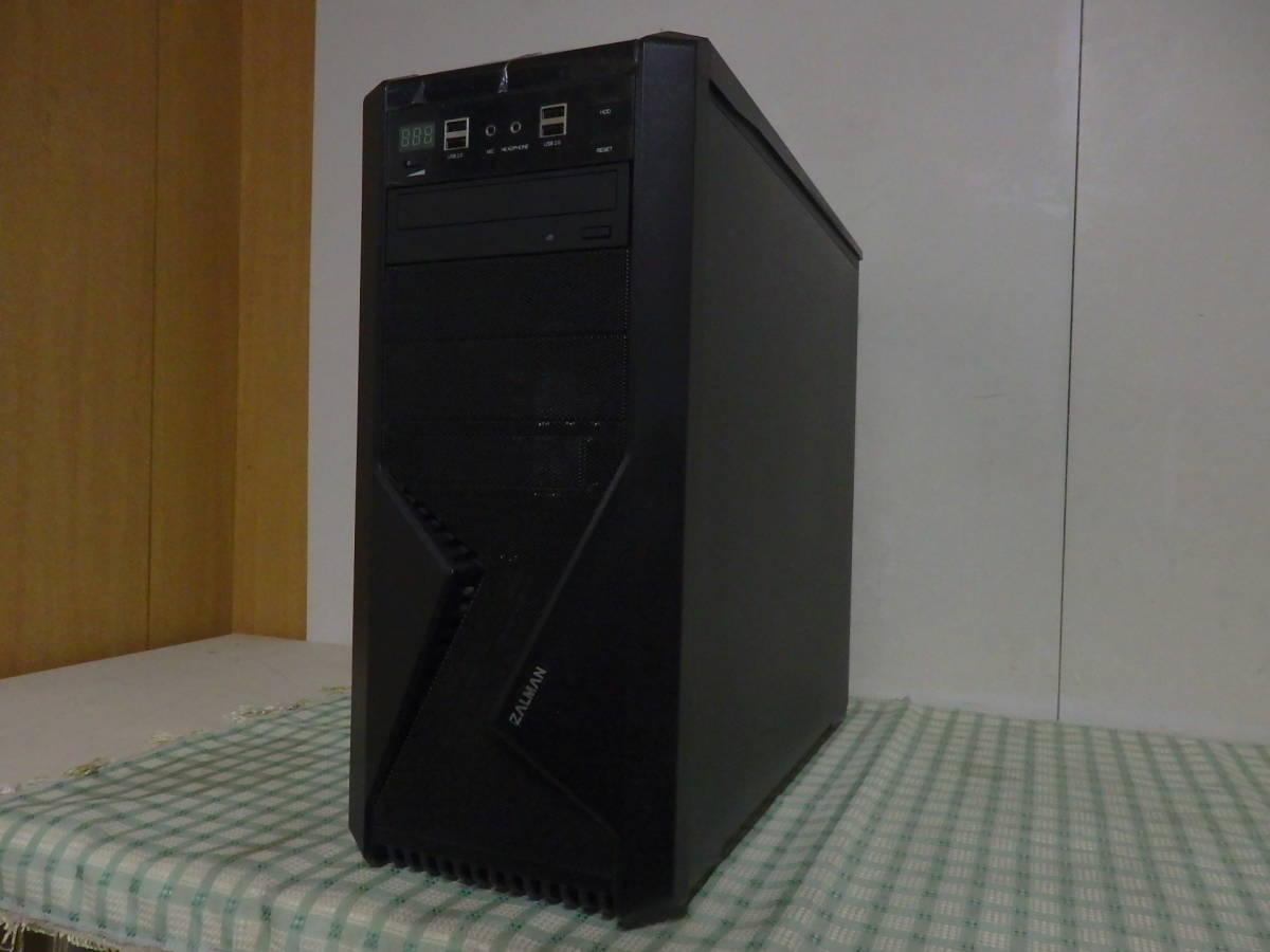 自作PC? ZALMANケース Core i5-3570K ジャンク品/部品取り