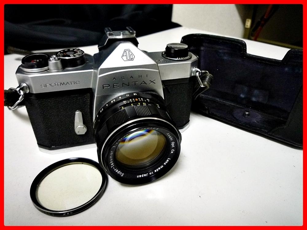 ▼PENTAX/ペンタックス カメラ SPOTMATIC レンズ付き 1:1.4/50