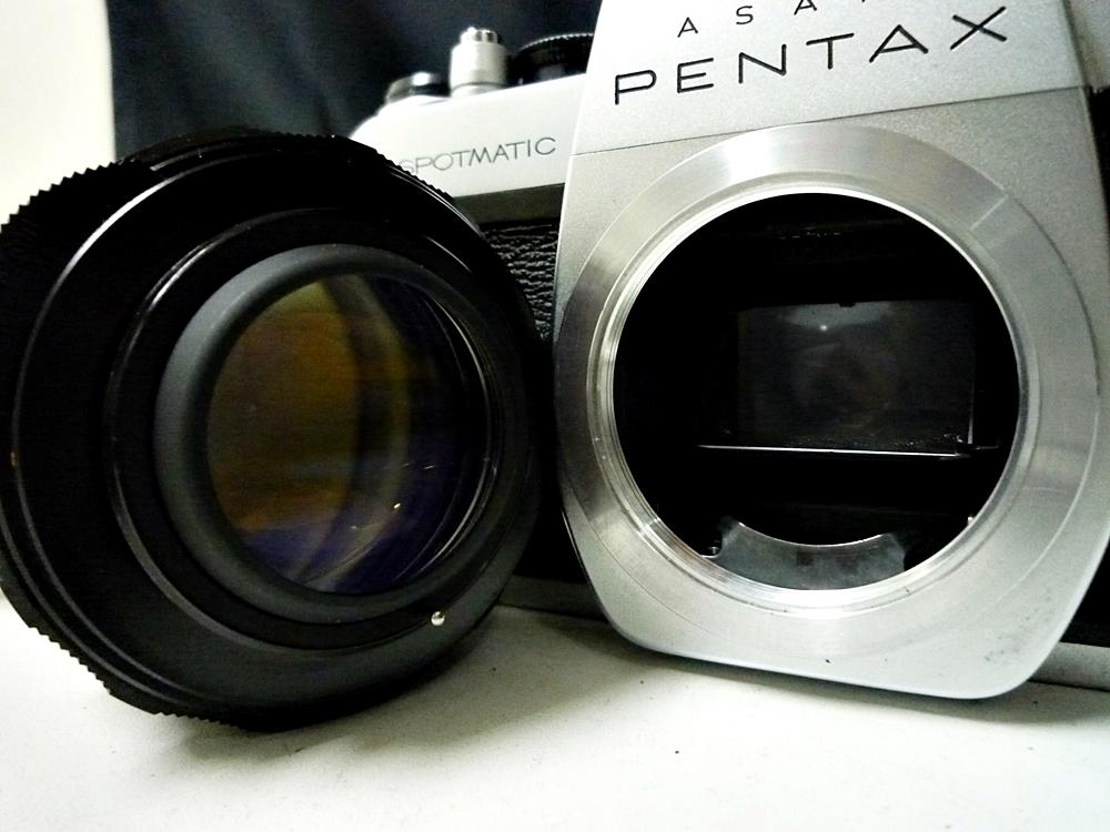 ▼PENTAX/ペンタックス カメラ SPOTMATIC レンズ付き 1:1.4/50_画像7