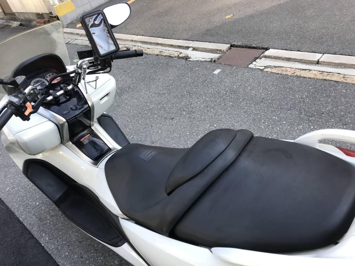 大阪市~ YAMAHA マジェスティ 250 エンジン好調 自賠責付 1円スタート SG20J 4D9 NEWマジェ 現行型_画像9