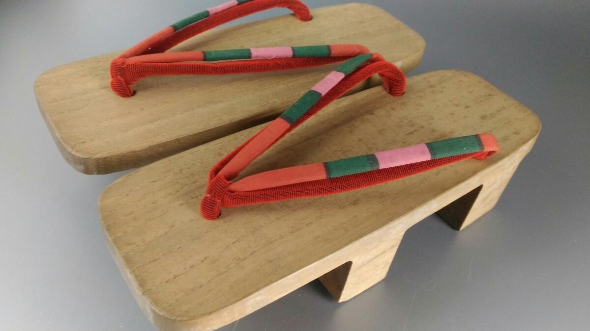 下駄 会津桐 ファッション レディース 木製 女性 和装小物 靴 履物 売り切り 在庫処分 お得◇z32_画像1